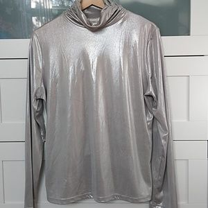 Erin London turtle neck top size Large - used
